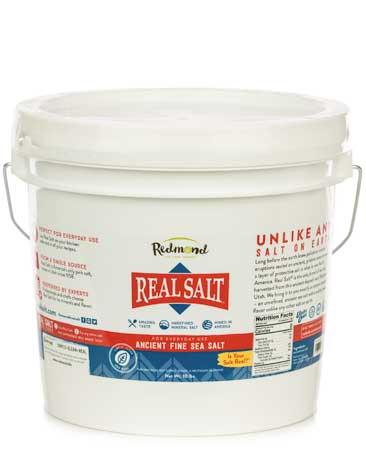 Real Salt Bucket 10 lb
