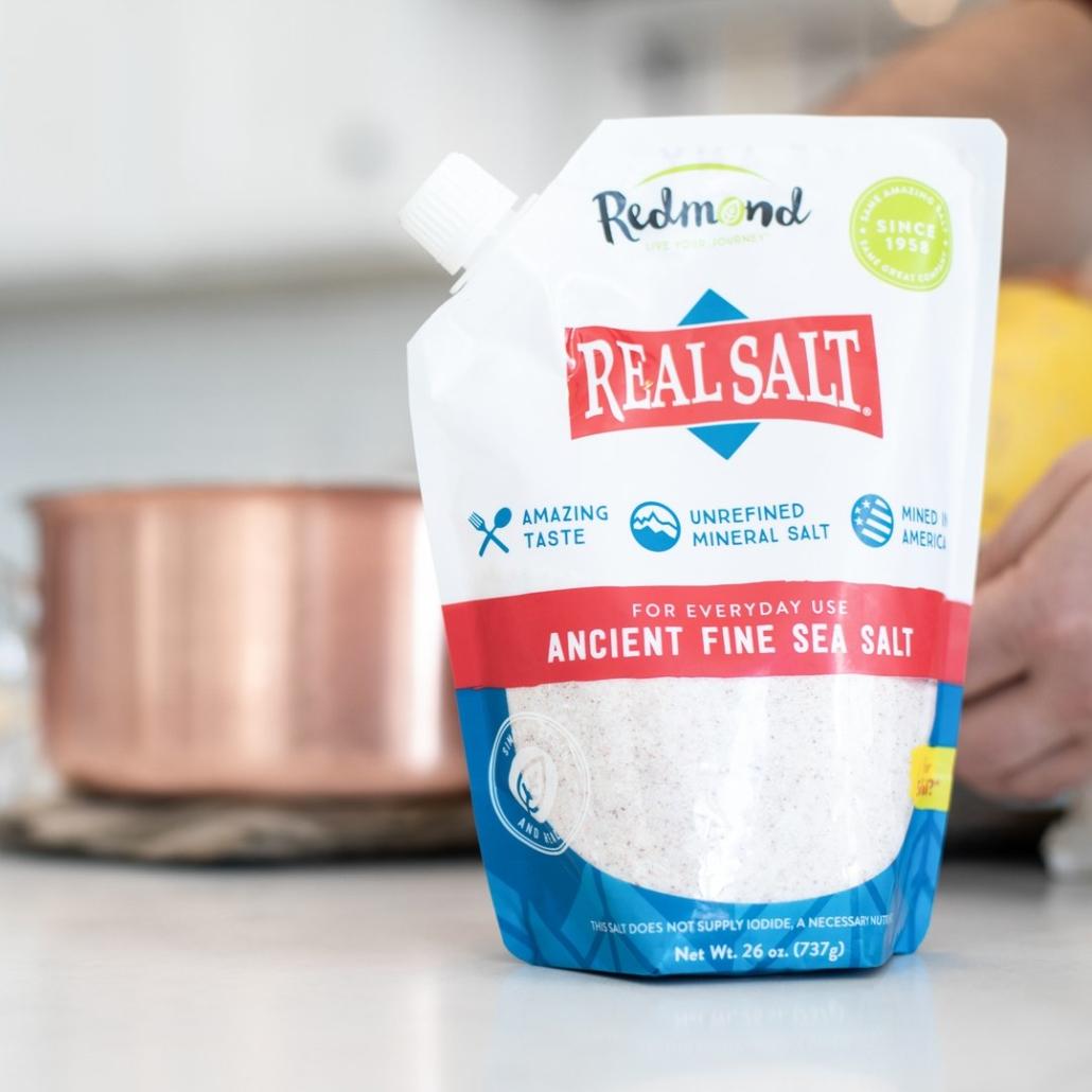 Real Salt Refill Pouch 26 ounce