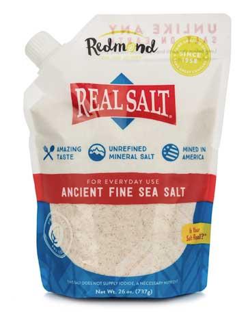 Real Salt Refill Pouch 26 oz
